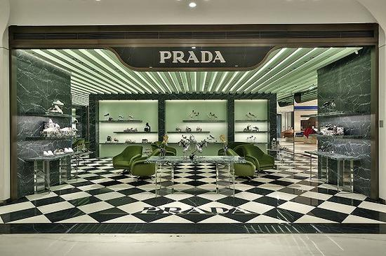 Prada西安SKP店铺 图片来源:Prada