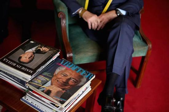 A.Caraceni店内 Agnelli及其兄弟的杂志