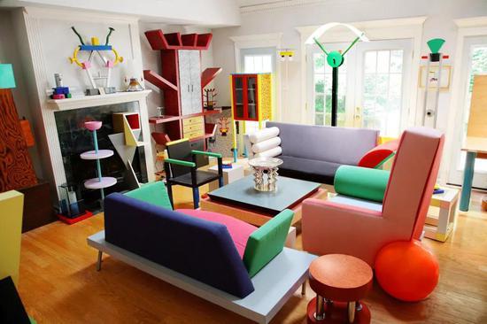 孟菲斯风格家具