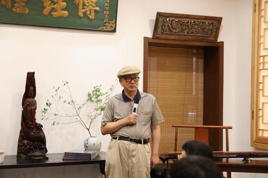 黄宏教授发言
