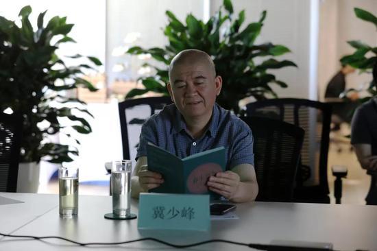 湖北美术馆馆长兼艺术总监冀少峰先生