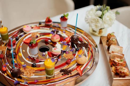 鹅肝,甜品,美食