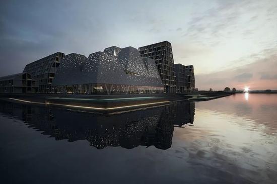 纸岛滨水文化中心???Kengo Kuma & Associates