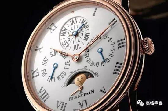 宝珀万年历腕表