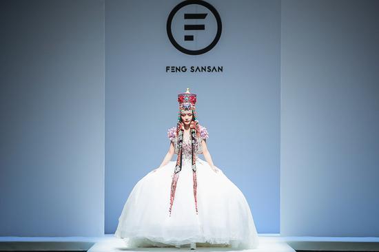 中国国际时装周2020S\S FENGSANSAN-冯三三 高级定制发布会