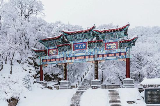 这个容易被忽略的低调古都 凭一场雪又惊艳了大家