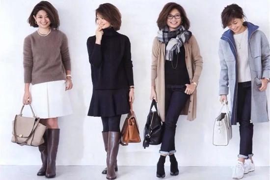 梨形身材的中年女人 学日本阿姨穿裙子 真优雅