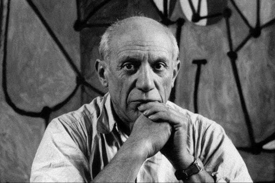 """毕加索与牛:走过的路会连线成一只""""弥诺陶洛斯"""""""