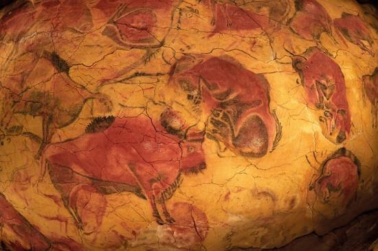大窟顶的野牛。 维基百科 图