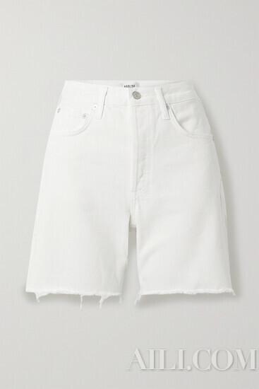 今年短裤流行得很友好 谁穿谁显瘦