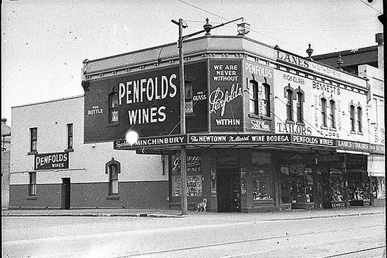1939年拍摄的Penfolds葡萄酒商店之一