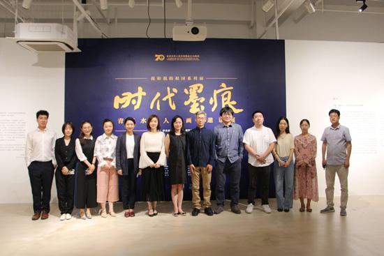青年水墨人物画展在临港当代美术馆开幕