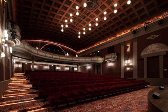 翻新后的最大厅可容纳474人