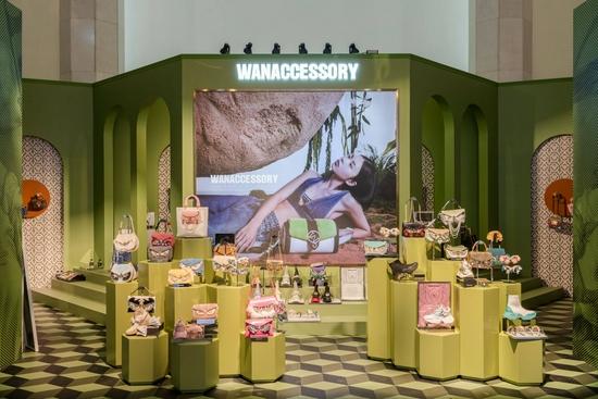 "WANACCESSORY举办""一个创意皮具包包的冒险之旅""创意展"
