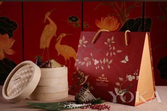 中国大饭店夏宫粽子经典礼盒 图片来自Enjoy