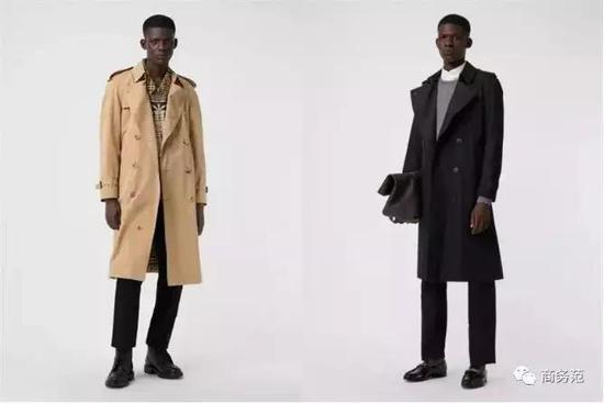 常见的威斯敏斯特和切尔西版型风衣