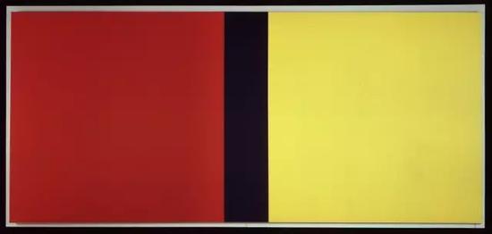 纽曼《是谁在害怕红黄蓝IV》