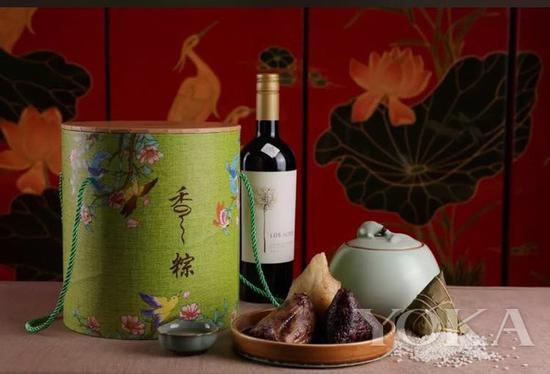 中国大饭店夏宫粽子精选礼盒 图片来自Enjoy