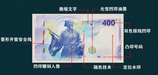 汤显祖纪念券用黑科技加持10种防伪辨别