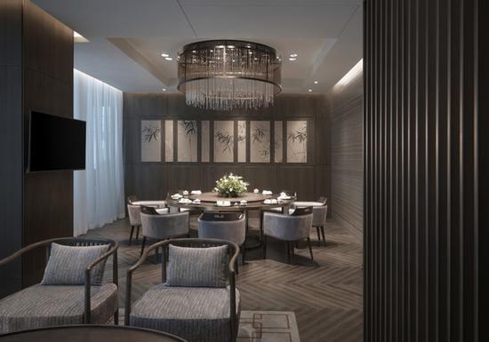 藏悦中餐厅包厢 图片源自品牌