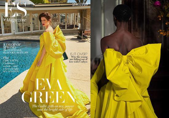 礼服来自Givenchy