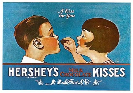 20世纪70年代的美国玛氏公司,甚至给旗下的德芙巧克力来了一段凄美爱情故事。