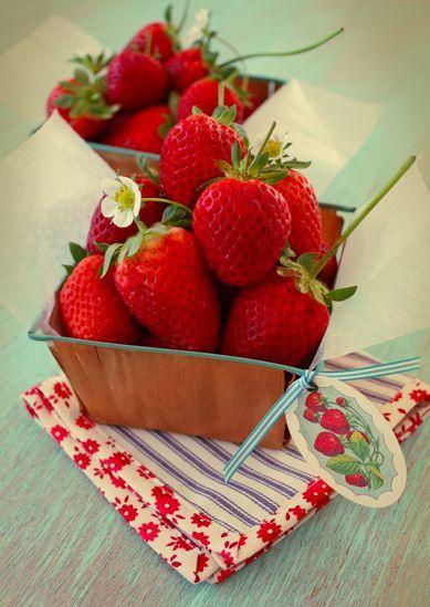 草莓 图片来源自Pinterest@Arequifruit