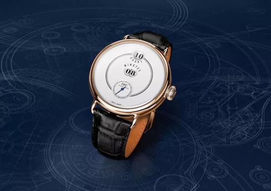 IWC万国150周年致敬波威柏纪念腕表
