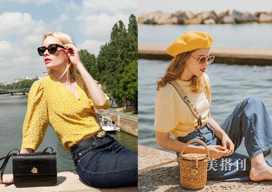 夏季黄色单品更出众,简约时髦又有范儿黄色简约