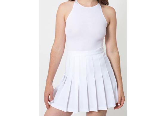 热天都快过去了这条元气网球裙你还没有吗
