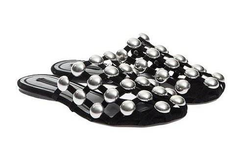 Alexander WangAmelia 铆钉拖鞋