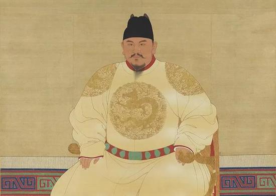 台北故宫的巨幅书画展