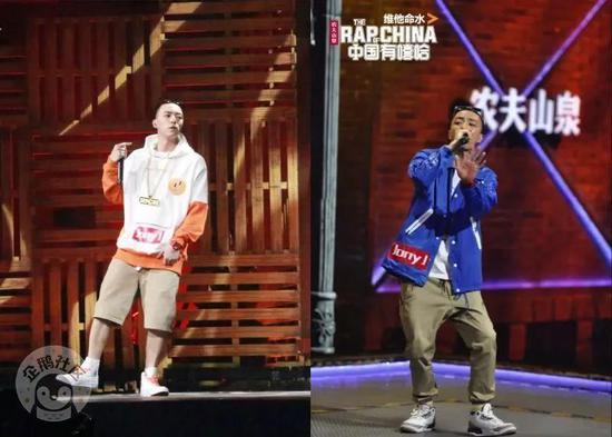 曾经《中国有嘻哈》带火了不少潮服