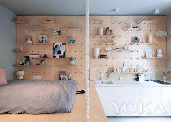 别看墙上放那么多东西,其实都是以装饰为主 图片来自宜家家居