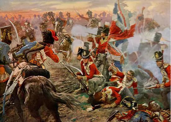拿破仑时代的士兵穿着