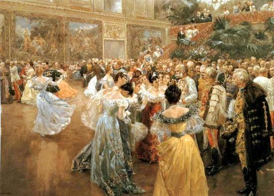 茜茜公主油画 图片来源自Kathryn A Pianist's Musings