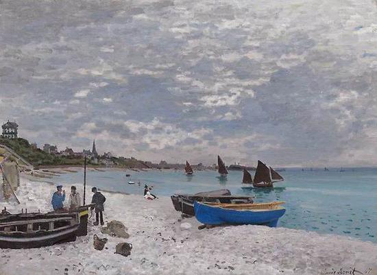 莫奈 《塞纳河畔的本尼科特》1867