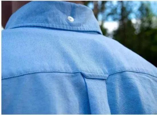 你有注意过衬衫背后的小环吗?