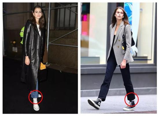 提到帆布鞋 我第一个想到了欧阳娜娜