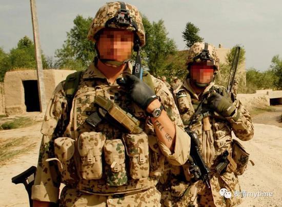 德国驻阿富汗部队所配发的Boccia腕表