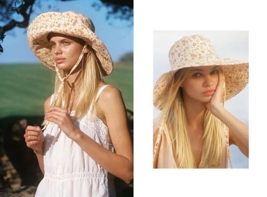 复古回潮 还以为宽檐帽是Ugly Hat嘛
