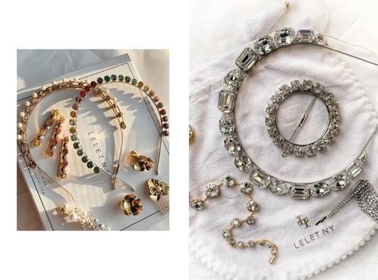 这些配饰的细节可以展现仪式感和少女小心思