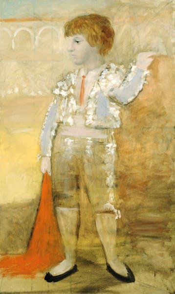 毕加索给儿子画的肖像