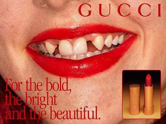 Gucci最新彩妆宣传广告