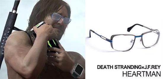 还原主角佩戴的眼镜