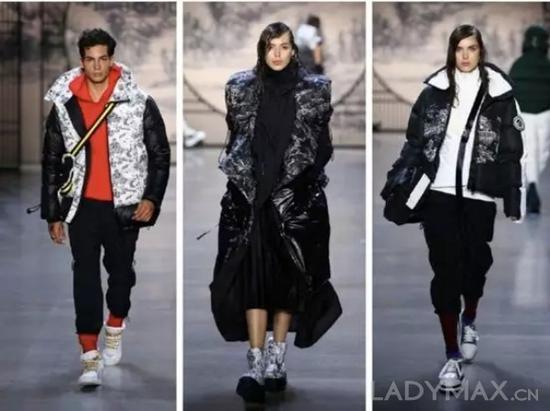 """以往受季节和天气因素限制的羽绒服产品,如今因为""""奢侈化""""和""""时尚化""""打败了天气"""