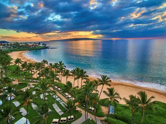 ▲夏威夷大韦利亚华尔道夫度假酒店
