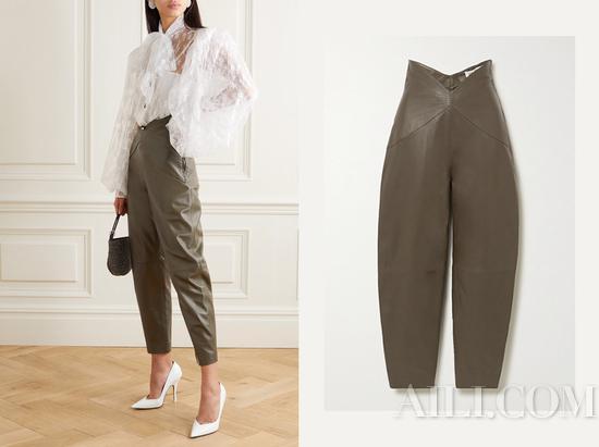 显瘦又增高的萝卜裤是这个春天的潮流担当