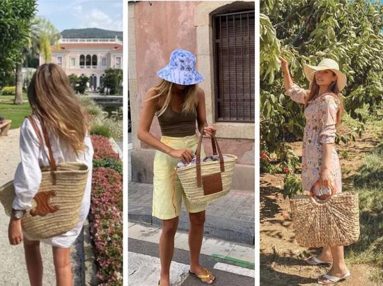 时髦女孩儿们都在背的编织包 到底该怎么选?