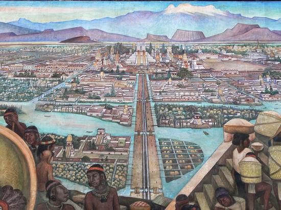 特诺奇提特兰城复原图